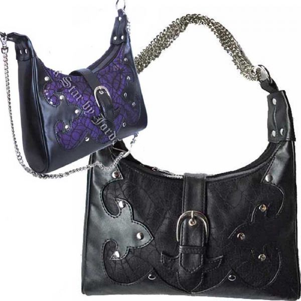 DARK STAR Gothic Black Handbag